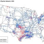 Map of US Pipeline Network
