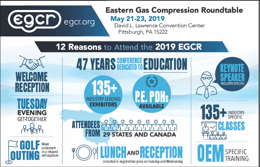 Eastern Gas Compression Roundtable Infographic 2019